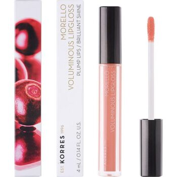 Korres Morelo Voluminous Lipgloss No12 Candy Pink, 4gr