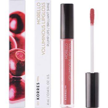 Korres Morelo Voluminous Lipgloss No16 Blushed Pink, 4gr