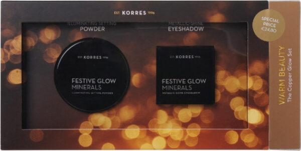 Korres Warm Beauty The Copper Glow Set