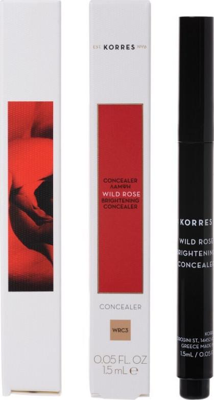 Korres Wild Rose Brightening Concealer WRC3 1.5ml