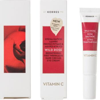 Korres Wild Rose Brightening Eye Cream, 15ml