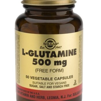 Solgar L-Glutamine 500mg veg.caps 50s