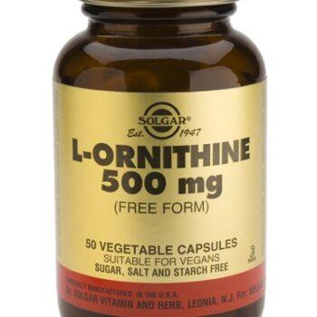 Solgar L-Ornithine 500mg veg.caps 50s