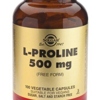 Solgar L-Proline 500mg veg.caps 100s