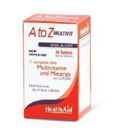 Health Aid A To Z Multivit, 30Tab