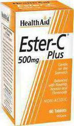 Health Aid Ester C 500mg, 60tabs