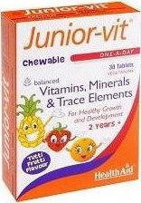Health Aid Junior-Vit, 30tabs