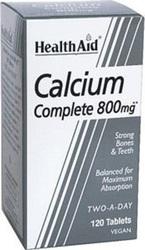 Health Aid Calcium 800mg, 120tabs