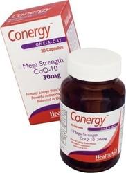 Health Aid Conergy CoQ10 30mg, 30Caps