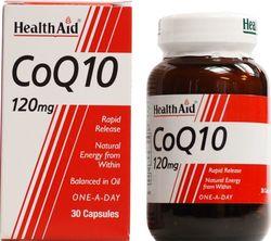 Health Aid CoQ-10 120mg, 30caps