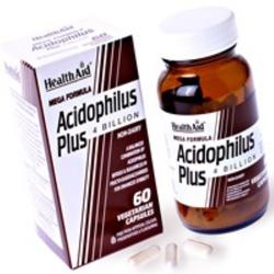 Health Aid  Acidophilus plus, 60caps