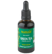 Health Aid Green Tea Liquid, 50ml