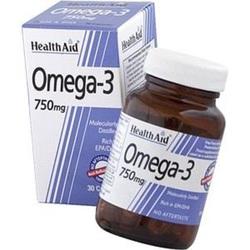 Health Aid Omega 3 750mg, 30caps