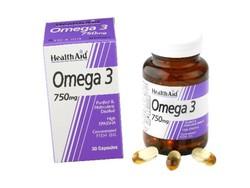 Health Aid Omega 3 750mg, 60caps