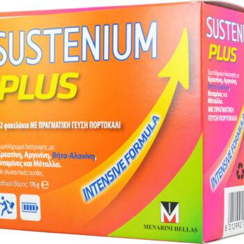 Menarini Sustenium Plus 22 φακελίσκοι Πορτοκάλι των 8gr
