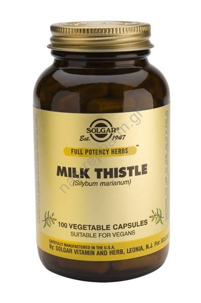 Solgar Milk Thistle veg caps 100s