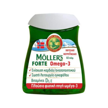 Moller's Forte Omega-3, 60 κάψουλες