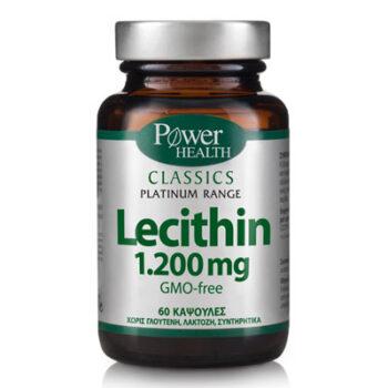 Power Classics  Lecithin 1200, 60 κάψουλες