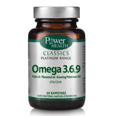 Power Classics  Omega 3.6.9 30 κάψουλες