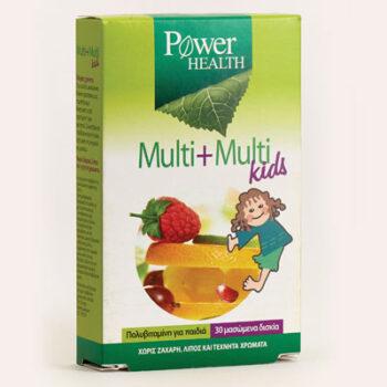 Multi + Multi Kids 30 ταμπλέτες