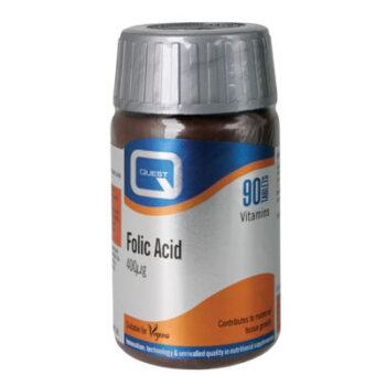 Folic Acid 400μg, 90tabs