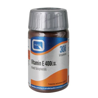 Vitamin E 400iu, 30caps