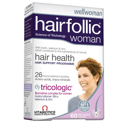 Vitabiotics Hairfollic Woman, 60tabs