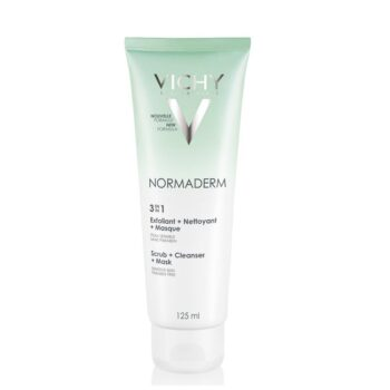 Vichy Normaderm 3in1 Exfoliant + Nettoyant + Masque, 125ml