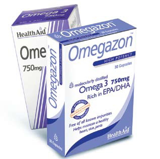 Health Aid Omegazon, caps 30s