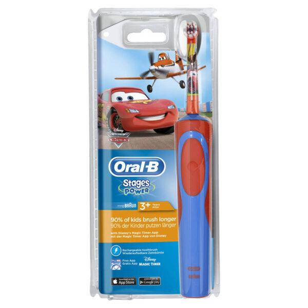 Oral-B Stages Power Disney Hλεκτρική Οδοντόβουρτσα για αγόρια 3+