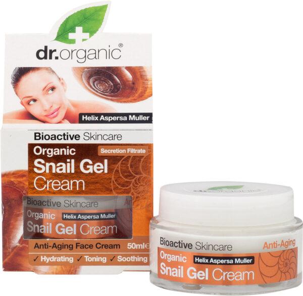 Dr. Organic Snail Gel Face Cream, 50ml