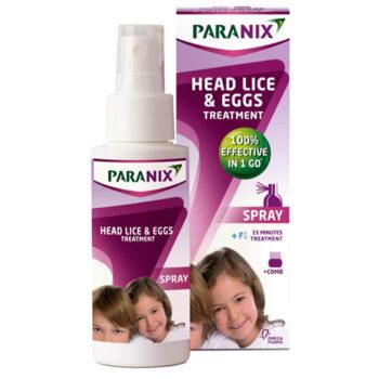 Paranix Spray 100ml αντιφθειρικό με δώρο κτενάκι