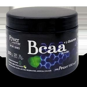 Power of Nature Sport Series Bcaa + L-Glutamine πράσινο μήλο, 250gr