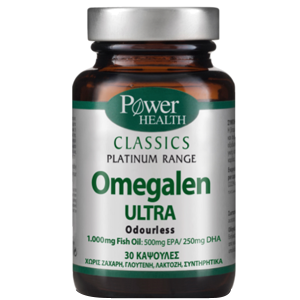 Power Health Classics Omegalen Ultra Odorless, 30caps