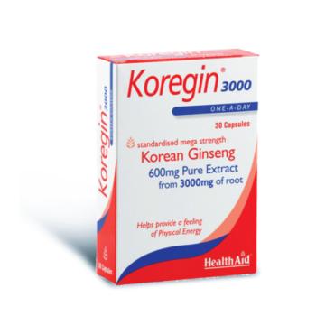 Health Aid Koregin 600mg, 30caps