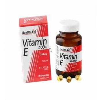 HealthAid Vitamin E 400iu, 30Caps
