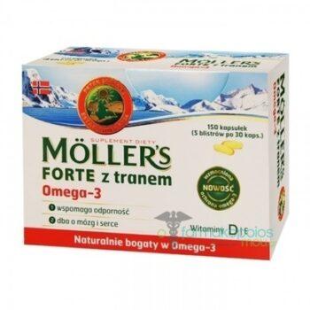 Moller's Forte Omega-3, 150 κάψουλες