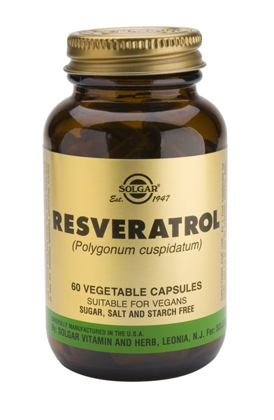 Solgar Resveratrol 100mg veg. caps 60s