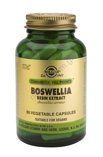 Solgar SFP Boswellia Resin Extract veg caps 60s