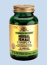 Solgar SFP Herbal Female Complex veg caps 50s