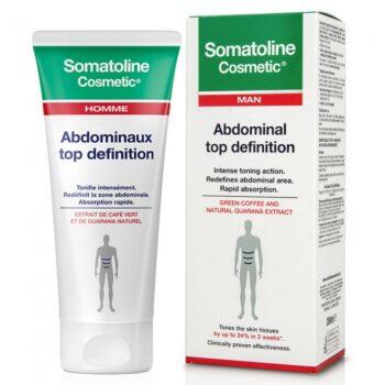 Somatoline Man Top Definition Αγωγή Κοιλιακών για Άνδρες,  200ml