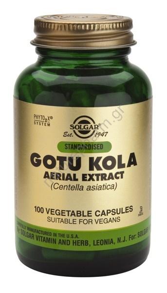 Solgar Standardised Gotu Kola veg caps 100s