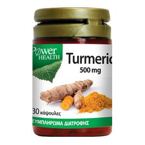 Power Health Turmeric 500mg, 30 caps