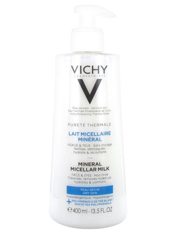 Vichy Purete Thermale Mineral Micellar Milk, 400ml