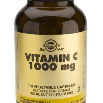 Solgar Vitamin C 1000mg veg.caps 100s