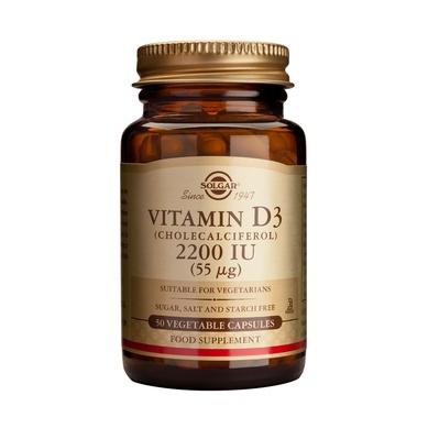 Solgar Vitamin D3 2200 IU veg. caps 100s