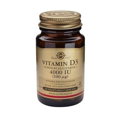 Solgar Vitamin D3 4000IU veg. caps 60s
