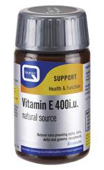 Vitamin E 400iu, 60caps